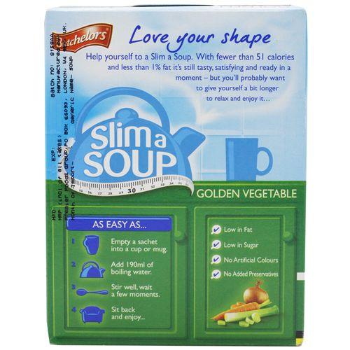 Batchelors Slim a Soup - Golden Vegetable, 51 gm Carton
