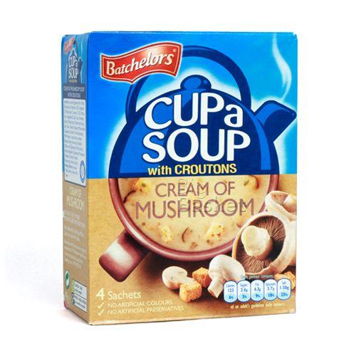 Batchelors Cup a Soup - Cream of Mushroom, 99 gm Carton