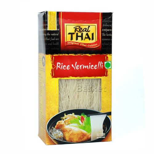 Real Thai Vermicelli - Rice, 375 g Carton