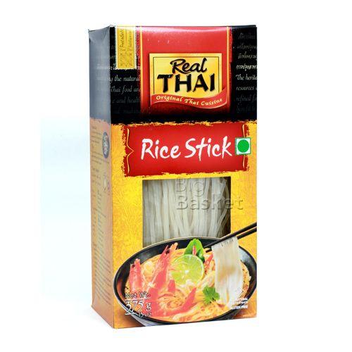 Real Thai Rice - Stick, 3 mm, 375 g Carton