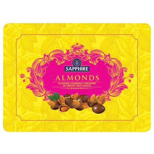 Sapphire Chocolate Coated Almonds, 350 gm