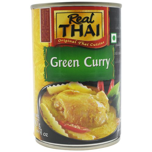 Real Thai Paste - Green Curry, 400 g