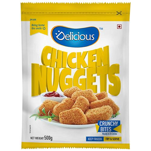 Delicious Nuggets - Chicken Classic, 500 g Pouch