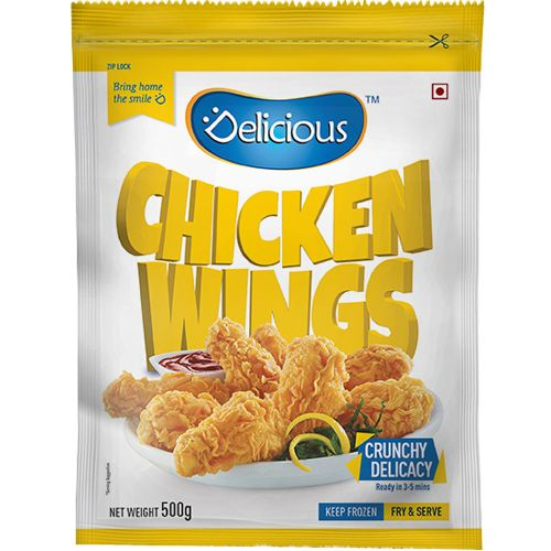 Delicious Wings - Chicken, 10 pcs Pouch