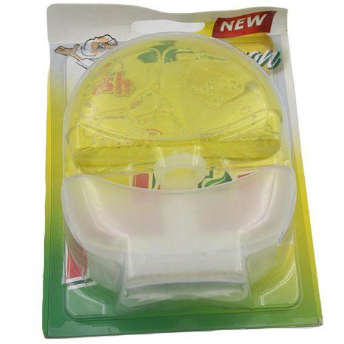 Dr Fresh Liquid Toilet Block - Lemon, 55 ml Pouch