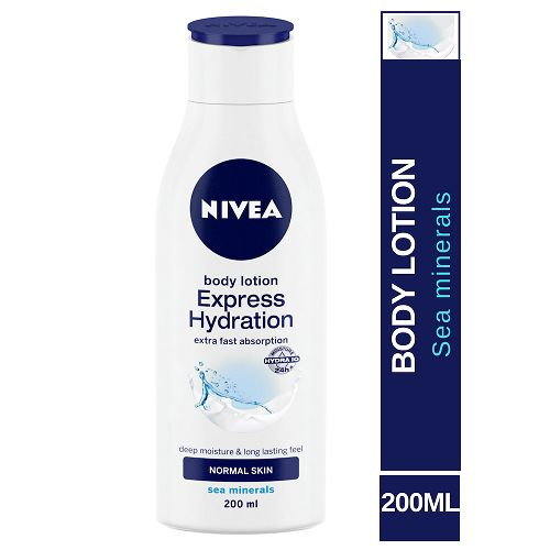Nivea Express Hydration Body Lotion - For Normal Skin, 200 ml