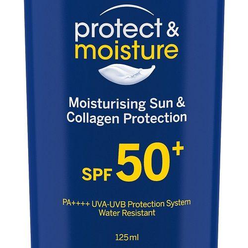 Nivea Sun - Protect & Moisture Sunscreen Lotion With SPF 50, 125 ml