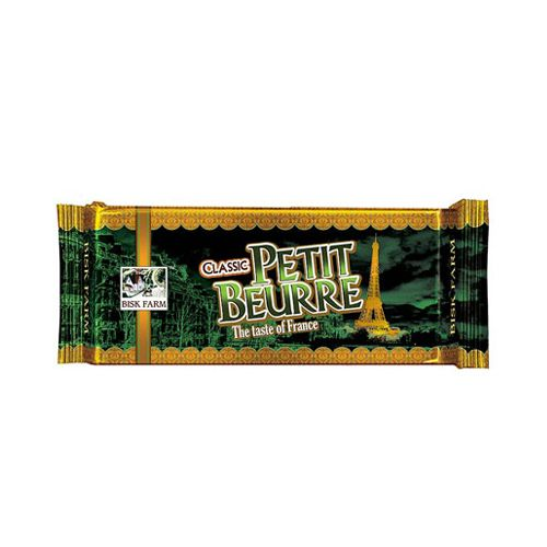 Bisk Farm Classic Petit Beurre - The Taste of France, 250 gm Pouch