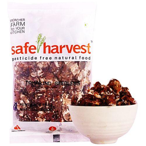 Safe Harvest Tamarind/Hunisehannu - Pesticide Free, 500 g