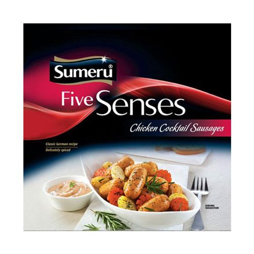 sumeru Chicken Cocktail Sausage, 200 gm Pouch