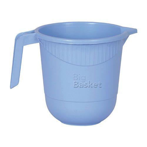 Princeware Plastic Mug, Assorted Color, 1 L