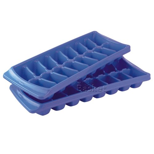 Princeware Ice Cube Tray - Assorted Color, 2 pcs