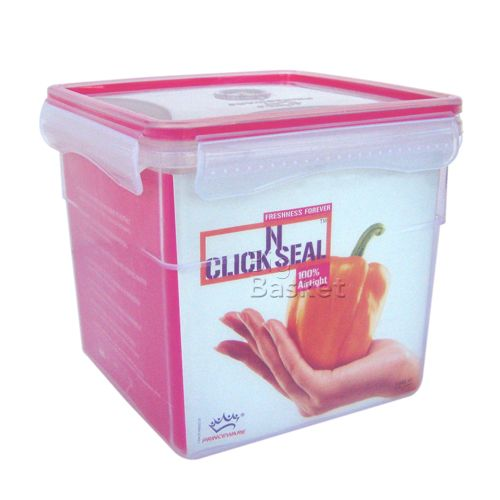 Princeware Click-N-Seal Container - Tall, 4.1 ltr