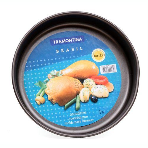Tramontina Round Roast Pan - Non Stick, 26 cm