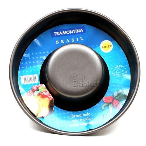 Tramontina Flan Cake Mould - Non Stick, 24 cm