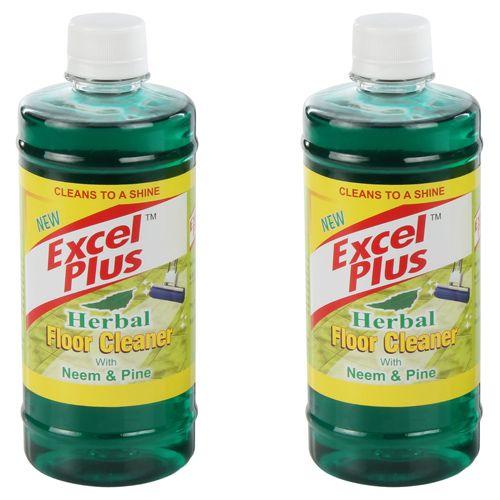 Excel Plus Floor Cleaner - Neem & Pine, 500 ml Buy 1 & Get 1 Free