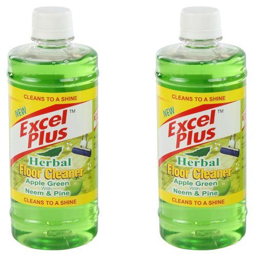 Excel Plus Floor Cleaner - Apple Green, 500 ml Buy 1 & Get 1 Free