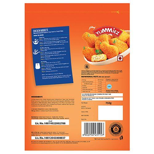 Buy Yummiez Nuggets Chicken 750 Gm Pouch Online At Best