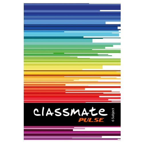 Classmate Notebook - A4, Six Subject, Single Line Ruling, 300 Pages