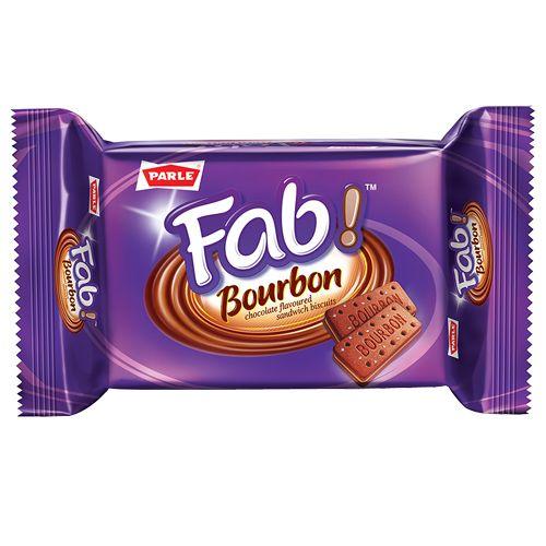 Parle Fab Bourbon, 60 g Pouch