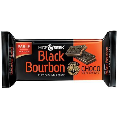 Parle Hide & Seek - Black Bourbon Choco, 100 g Pouch