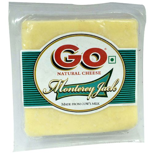 Go Natural Cheese Selection - Monterey Jack, 200 g Pouch