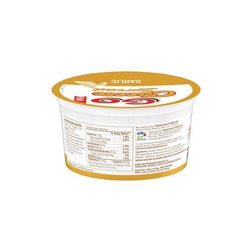 Go  Cheese Spread - Garlic (Soft & Creamy), 200 g Tub