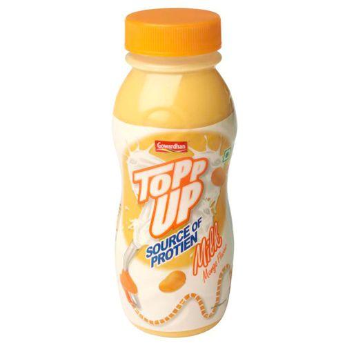 Gowardhan Topp Up Milk - Mango, 200 ml Bottle