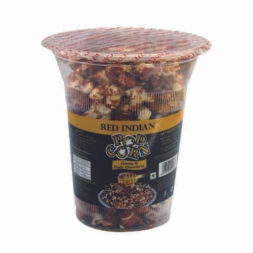 Red indian Pop Corn - Honey & Dark Chocolate, 55 gm