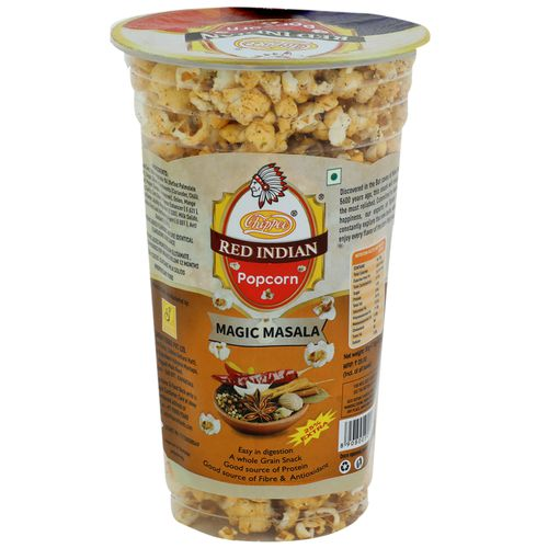 Red indian Pop Corn - Magic Masala, 30 g Pouch