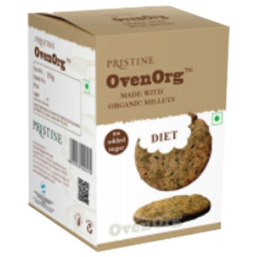 PRISTINE OvenOrg - Organic Mixed Millet Biscuits, Diet, 150 gm