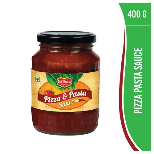 Del Monte Sauce - Pizza & Pasta, 400 g Bottle