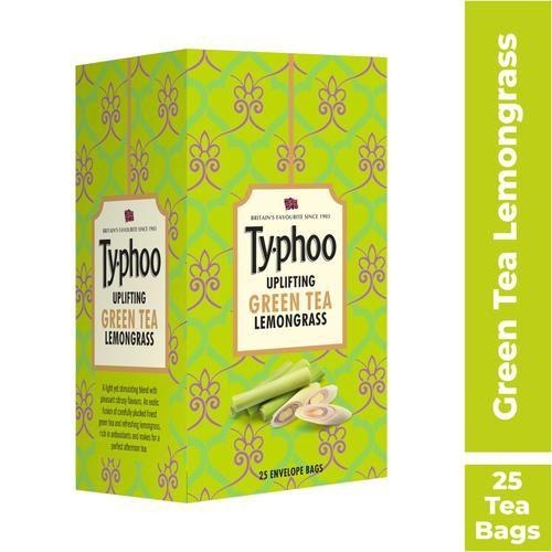 Typhoo Green Tea - Lemon Grass, 25 pcs Carton