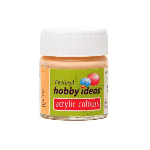 Buy Fevicryl Hobby Ideas Acrylic Colours Flesh Tint 30 Online At Best Price Bigbasket