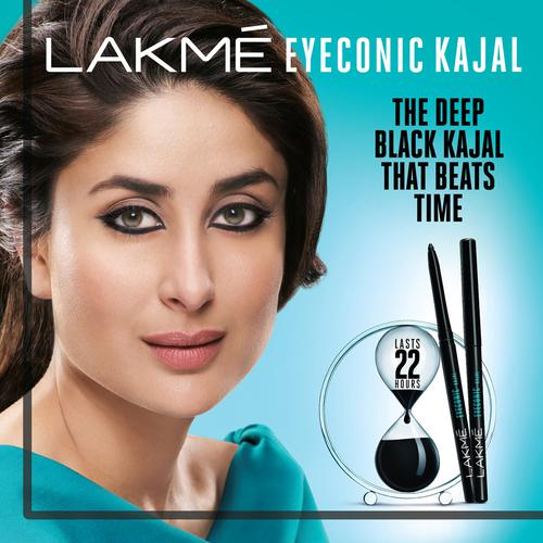 Lakme Eyeconic Kajal, 0.35 g Regal Green
