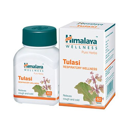 Himalaya Wellness Tulasi - Tablets (Wellness), 60 pcs Bottle