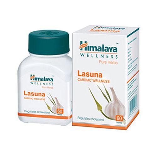 Himalaya Wellness Lasuna - Tablets (Wellness), 60 pcs Bottle