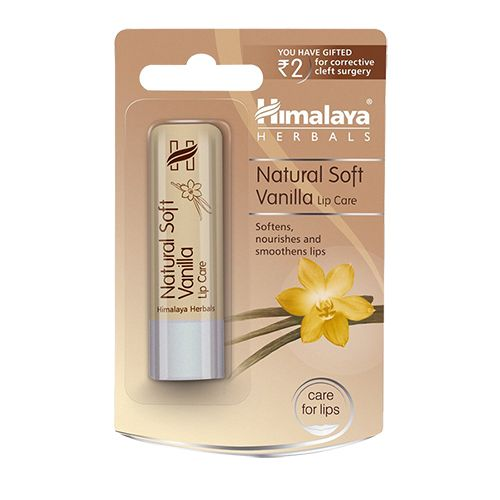Himalaya Natural Soft Vanilla Lip Care, 4.5 gm