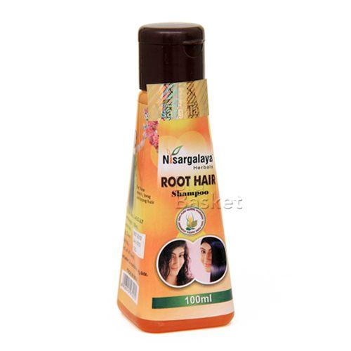 Nisargalaya Root Hair Shampoo, 100 ml Bottle