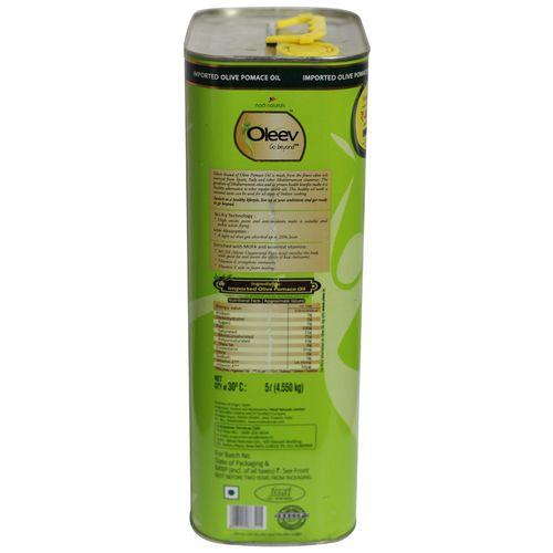 Oleev Pomace Olive Oil, 5 L