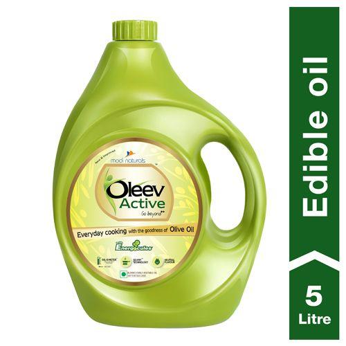 Oleev Active - Goodness Of Olive Oil, 5 L Jar
