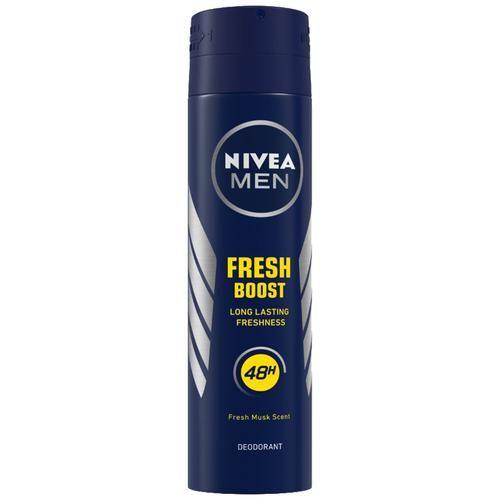 Nivea Men Fresh Power Boost Deodorant - Fresh Musk Scent, 150 ml