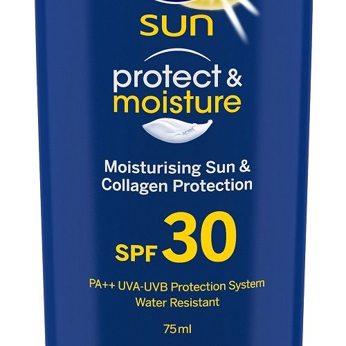 Nivea Sun - Protect & Moisture Sunscreen Lotion, SPF 30, 75 ml