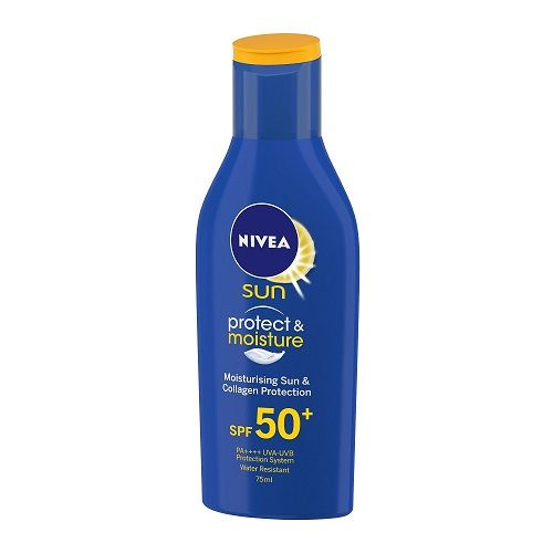 Nivea Sun - Protect & Moisture Sunscreen Lotion, SPF 50, 75 ml