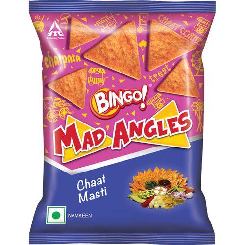 Bingo Mad Angles - Chaat Masti, 80 g Pouch
