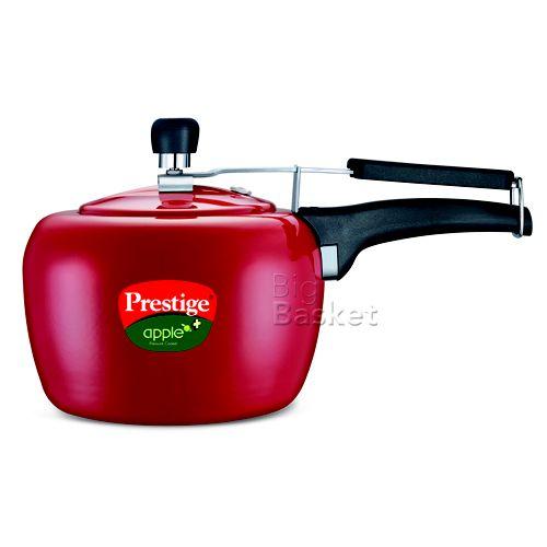 Prestige Apple Plus Pressure Cooker - Red, 2 ltr