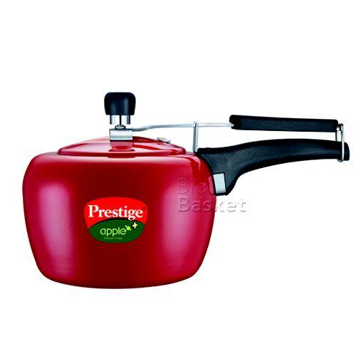 Prestige Apple Plus Pressure Cooker - Red, 3 L None