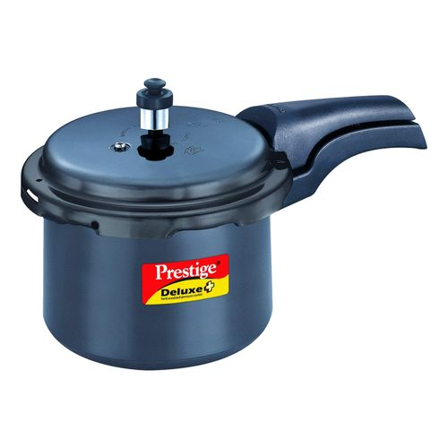 Prestige Dlx Plus Hard Anodized Induction Base Pressure Cooker, 3 lt