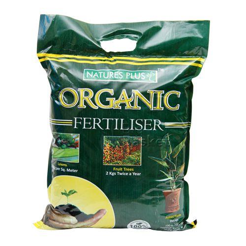 Natures Plus Organic Fertiliser, 5 Kg