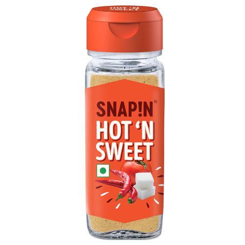 Snapin Seasoning - Hot & Sweet, 70 gm Bottle